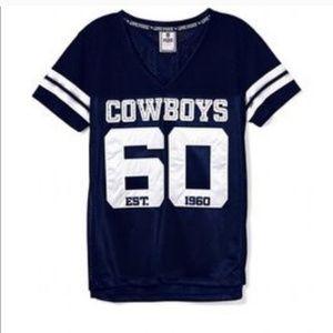 Victoria's Secret PINK - RARE Dallas Cowboys Tee